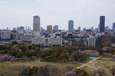 大阪城から.JPG